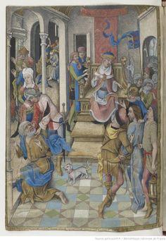 [77v] Horae ad usum Parisiensem 1475-1500 (The Hours of Charles d'Angoulême)