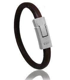 fbfd85d8d982 Bracelet homme cuir marron Mens Essentials, Bracelets For Men, Lyon, Amai,  Creations