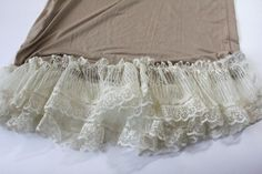 see kate sew: lace extender slip 2