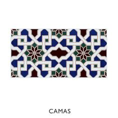 This style of tile has been used for centuries in traditional Moorish architecture, but these rich colours and bold patterns make it a stunning, dramatic addition to contemporary interiors either as a random mix or as single patterns. Suitable for interior walls. 25 tiles per m²