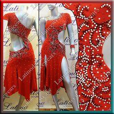LATIN RHYTHM SALSA BALLROOM COMPETITION DANCE DRESS - SIZE S, M, L (LT733) | Clothing, Shoes & Accessories, Dancewear, Adult Dancewear | eBay!