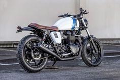 Triumph Bonneville Brat Style Spike by Macco Motors #motorcycles #bratstyle #motos | caferacerpasion.com