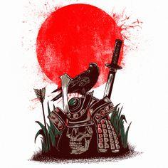 dead samurai on Behance