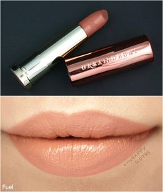 """Urban Decay Naked Heat Vice Lipstick in """"Fuel"""": Review and Swatches"""
