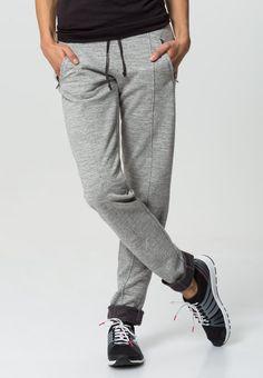 Blue Sportswear SIMONE - Jogginghose - lightgrey mouliné - Zalando.de