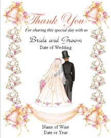 Wedding Wine Labels From WwwUnmistakablyyouCom  Casual Vintage