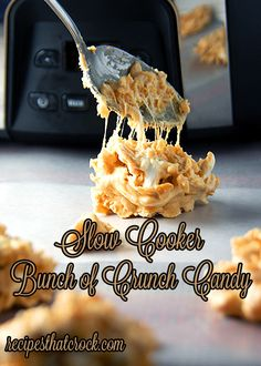 Slow Cooker Bunch of Crunch Candy #slowcooker #crockpot