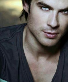 So INCREDIBLY good looking. Ian Somerhalder. Damon from Vampire diaries.