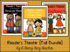 Reader's Theater Fall Bundle Part 2 - A Teeny Tiny Teacher