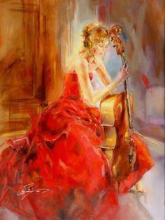 """""""Red Note II"""" by Anna Razumovskaya"""