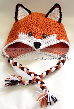 chapeau renard jolie tuque caches-oreilles tresses Tricot Enfant, Couture  Enfant, Crochet Bébé 6c4dd9f8fa8