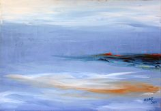 "Saatchi Art Artist Esen Bozkurt; Painting, ""Solitude"" #art"
