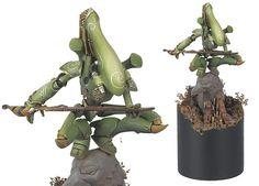 Eldar Wraithknight - Striking Scorpion Style