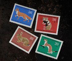 切手・STAMP : 森の動物/ドイツ1967年   Sumally (サマリー)