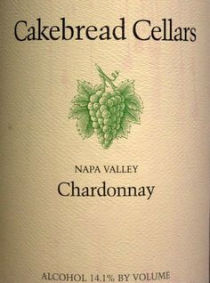 Cakebread Cellars Chardonnay Napa Valley - Chardonnay's can really be outstanding if you find the right ones.  It's not cheap, but it's one of my favorite wines I've tasted (reds rank above whites for me generally)