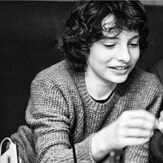 Finn Wolfhard: Stranger Things Young actor with incredible talent Millie Bobby Brown, Finn Stranger Things, I Love Him, My Love, Future Husband, Future Boyfriend, Celebrity Crush, Cute Boys, Pretty Boys