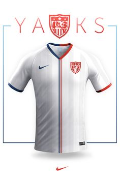 National jersey design - Nike on Behance