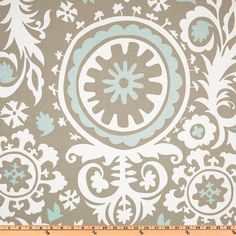 Great print for my bedroom curtains! Hey, I found this really awesome Etsy listing at http://www.etsy.com/listing/158366859/heat-wave-sale-premier-prints-suzani