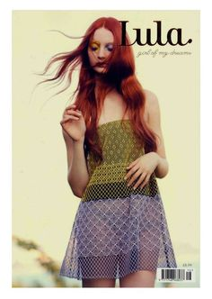 Codie Young & Karlina Caune for Lula No.16 SS 2013 [Newsstand] - Fashion Copious
