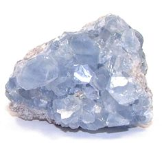Connect with your Guardian Angel!  Celestite (also known as celestine) can be found in clear, white, gray, blue, green, yellow, orange or reddish brown. It offers a gentle uplifting energy that will raise one's awareness. It is an effective stone to use in order to establish and maintain communication with the angelic realm.  This cluster is ideal for placement in the bedroom, or meditation space as an environmental cleanser. Celestite is a soft stone (both physically and metaphysically)
