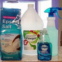 epsom salt and vinegar