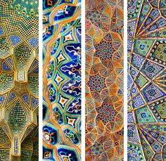 """ ART HISTORY MEME → [1/3] Countries and Cultures Islamic Art: Mosque ceilings and muqarnas """