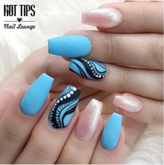 17 ideas pedicure tips blue for 2019 Pedicure Tips, Pedicure Designs, Pedicure Nail Art, Blue Pedicure, Nail Nail, Nail Desighns, Matte Pink Nails, Cute Nails For Fall, Edge Nails