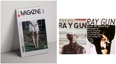 Modern and Postmodern in magazine covers