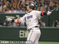 Hiroyuki Nakajima goes deep twice - his 3rd and 4th - June 8, 2012