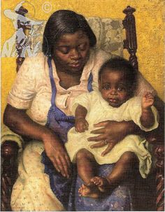 Madonna of the Cotton Fields- 1927 - Dame Laura Knight-Oil on canvas