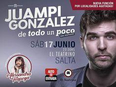 Sab 17/Jun - 23.30 hs  #Salta #Agenda #Evento #Prensa #PasaLaData #Teatro #ElTeatrino #QueHacemosSalta #Noticias #Medios Toda la info que necesitas la podes encontrar aquí  http://quehacemossalta.com/