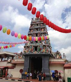 The Sri Mariamman Temple Singapore. First visit was for work, so I had to go back!
