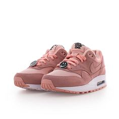 timeless design 874c9 e9805 nike AIR MAX 1 NK DAY (GS) BLEACHED CORAL BLEACHED CORAL-BLACK