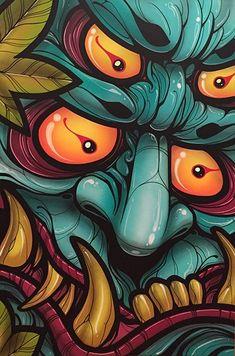 Image of Four-eyed Oni