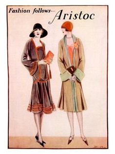 aristoc stockings art deco fashion advert 1920s | Flickr - Photo ...