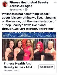 """Welcome! To Our New """"Fitness• Health And Beauty • Across All Ages"""" PAGE…  I will be adding NEW and Exciting Educational, Health, Wellness And Fitness Content Shortly…   Thank you for being part of the HEALTH And Wellness Movement!  Sincerely, Carolyn A. Brent, MBA"""