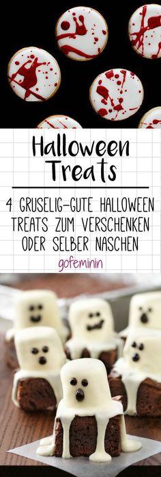 Gib Süßes! 4 gruselig gute Halloween Sweeties zum Verschenken oder Selbernaschen