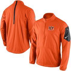 Nike Cincinnati Bengals Womens Legend Wordmark V-Neck Performance T-Shirt - Orange