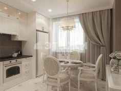 Kitchen Renovation Design, Interior Design Kitchen, Home Decor Kitchen, Home Kitchens, Dining Room Design, Beautiful Kitchens, Flat Design, Sweet Home, Kitchenettes