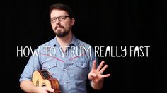 How to Strum Really Fast - James Hill Ukulele Tutorial - How to develop the perfect strum