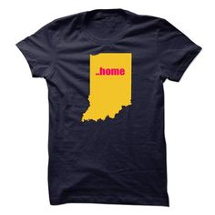 Indiana will always be home #tee #fashion