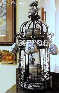 TREND-HUB: Gabbie per uccelli... decorative!