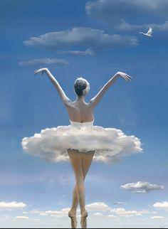 Cloud dancer. - Ballet beautie, sur les pointes !