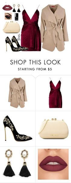 Patrizzia23.12.2017a by patrizzia on Polyvore featuring moda, Boohoo, Love Moschino and patrizziapolyvore