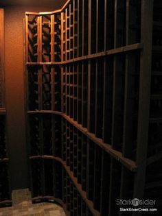 Wine Cellar Project: Installing Corner Racks