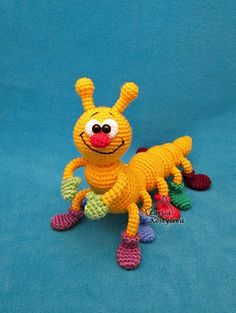 Ravelry: Caterpillar pattern by Amigurumi Fair