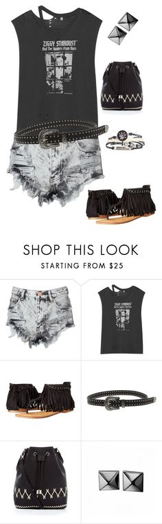"""""""Ziggy"""" by ccoss on Polyvore featuring Glamorous, R13, Not Rated, New Look and Waterford"""
