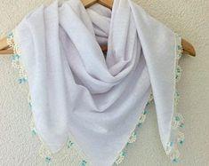 Scarf Aprons Placamats Doilies Handmade by sorahandmadeshop Cotton Scarf, Aprons, Doilies, Handmade, Etsy, Fashion, Moda, Hand Made, Fashion Styles