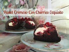 Pastel Cremosito Con  Relleno De Cherries/Cereza Exquisito! - YouTube