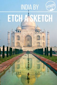We sent artist Jane Labowitch on a trip to India where she created unbelievable Etch A Sketch masterpieces. #LiveIntrepid